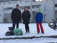 Silvester- Müllsammelaktion