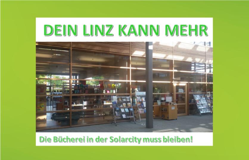 Petition Bücherei Solarcity
