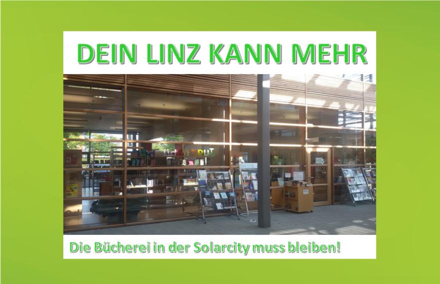 Büchereien im Linzer Süden müssen erhaltenbleiben
